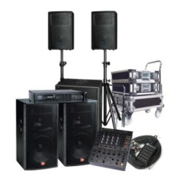 Equipment rent for shows and show business