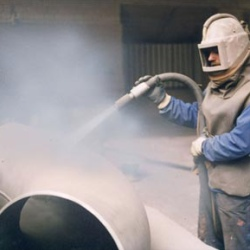 Sandblasting surfaces services
