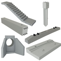 Reinforced-concrete products